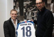 Santiago Ascacíbar fue presentado en Hertha Berlín