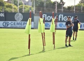 Diego Monarriz en entrenamiento