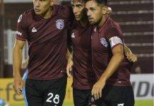 Lanús goleó a Universidad Católica de Ecuador