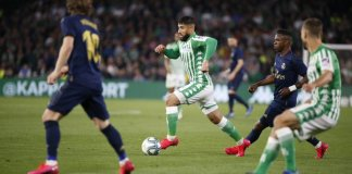 Betis le ganó a Real Madrid