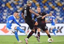 Napoli empató con Milan