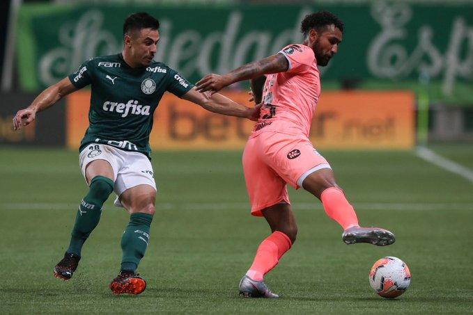 Palmeiras goleó a Bolívar
