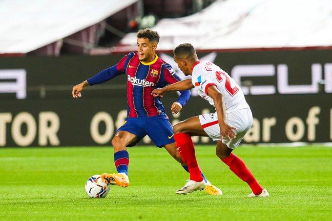 Barcelona empató con Sevilla