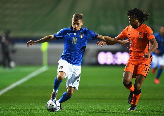 Italia empató con Países Bajos