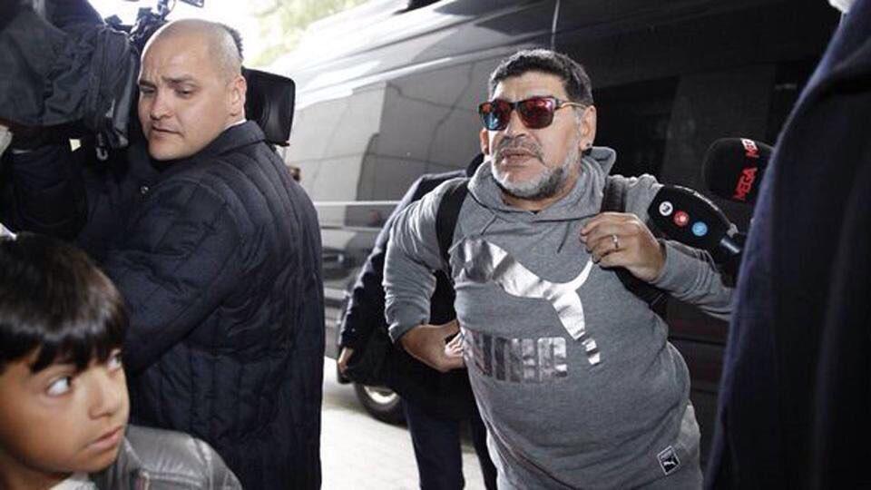 Diego Maradona y Benjamín