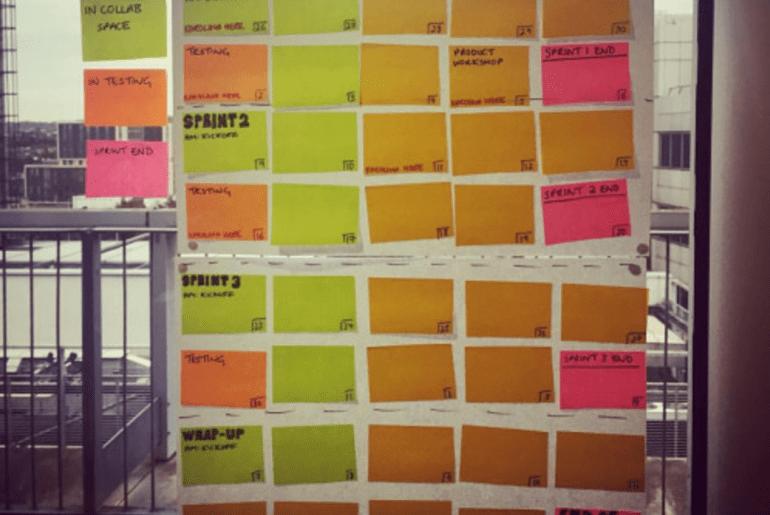 design sprint calendar