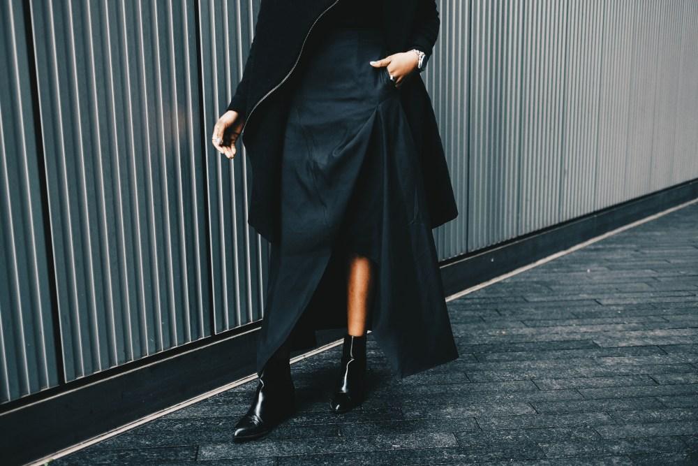 young black fashion designer