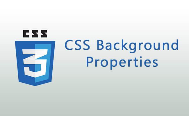 CSS Background Properties - CSS Background Properties