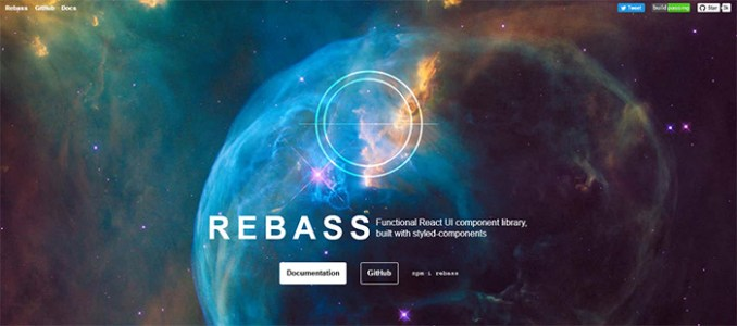 rebass - 15 Interesting JavaScript and CSS Libraries for September 2017