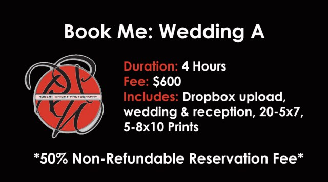 Booking- Wedding A