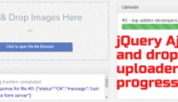 Responsive Bootstrap Multi File Uploader jQuery Plugin - uploadHBR