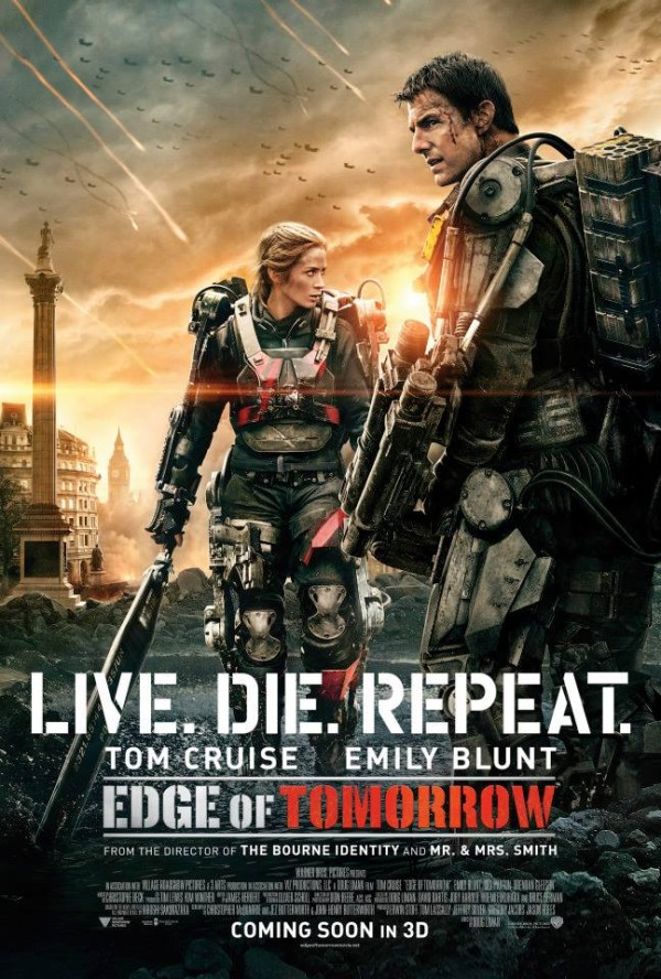 The Edge of Tomorrow Starring Tom Cruise & Emily Blunt