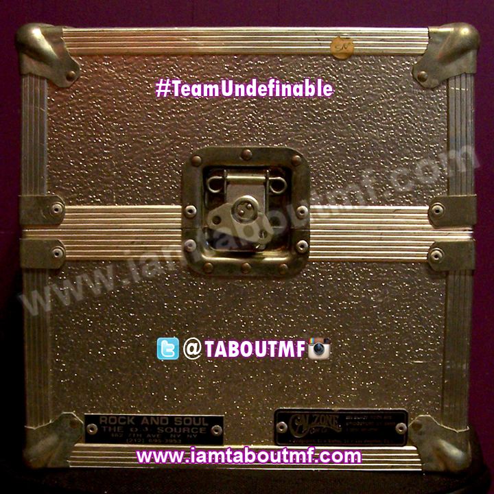 Throwback Thursday - Tabou TMF aka Undefinable One's One of a kind Calzone Case