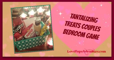 Tantalizing Treats Couples Bedroom Game