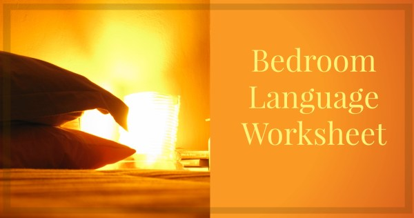 bedroom-language-worksheet
