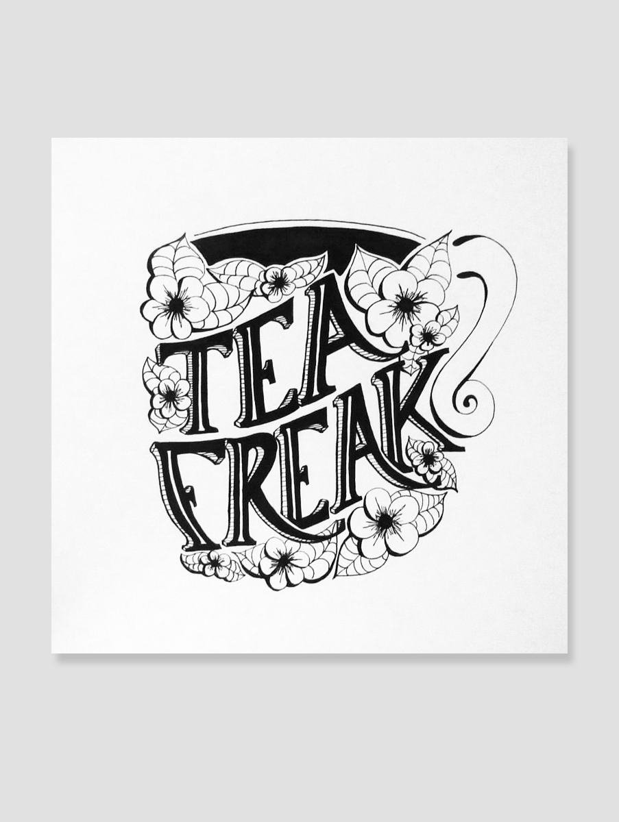 lettering-teafreak