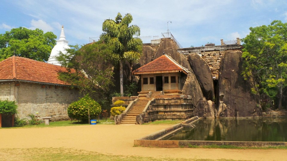 De Isurumuniya Temple in Sri Lanka