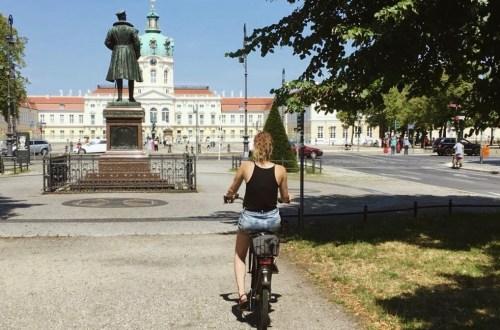 Fietsen naar Schloss Charlottenburg