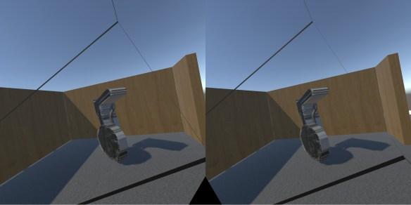 VR installation test