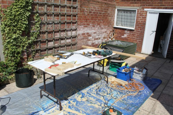 Outdoor workspace 31/05/20