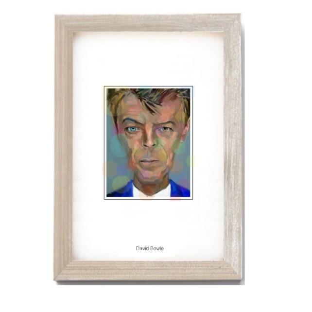 david bowie-4x6frame-1000