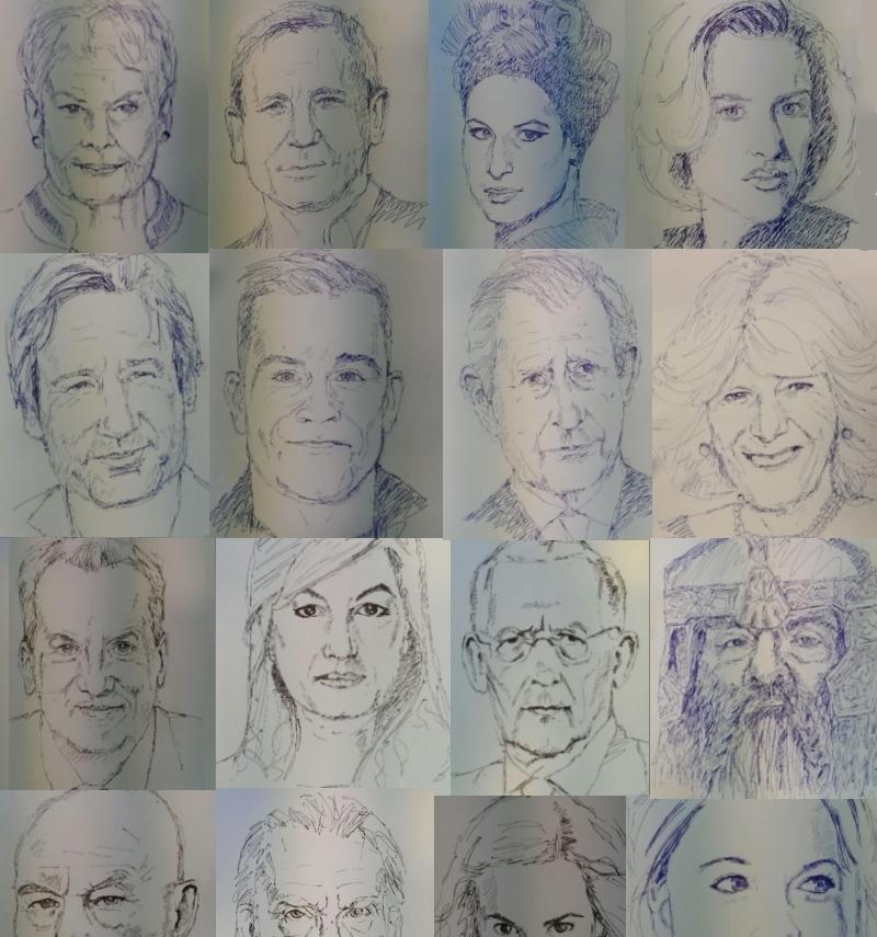 Quick Pen Sketches – Ian Young