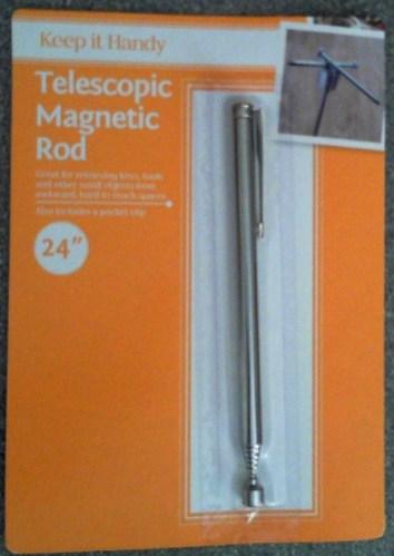 Magnetic needle retrieval