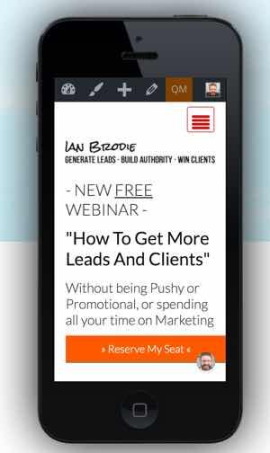 ianbrodie.com on mobile
