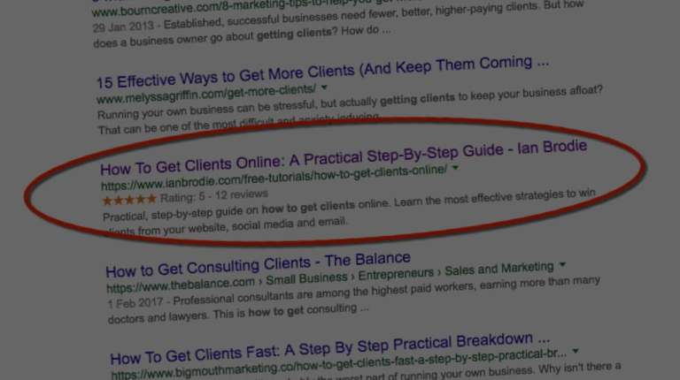 How To Get Star Ratings In The Google Search Listings