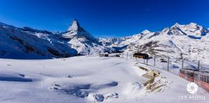 The Matterhorn from the Gornergrat Bahn.