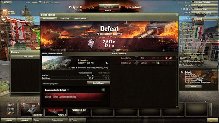Defeat!