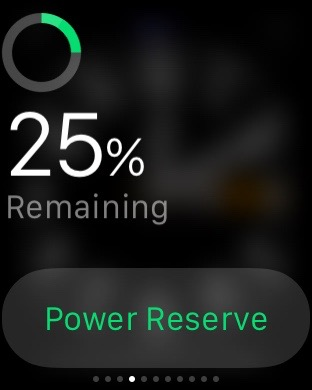 End of day, plenty power remaining