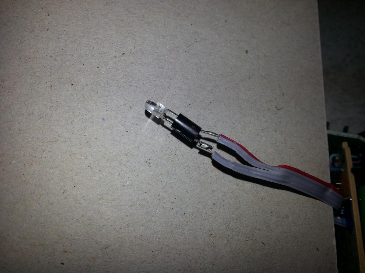Bosch IXO LED auslöten