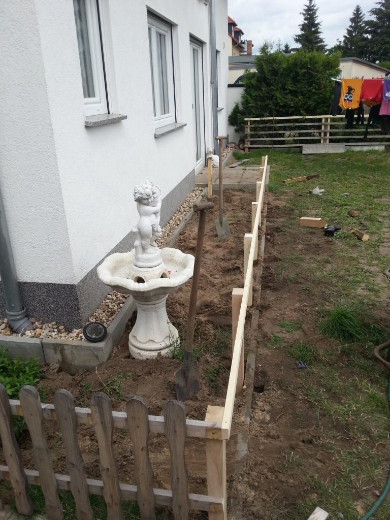Gartenzaun einfach selber bauen