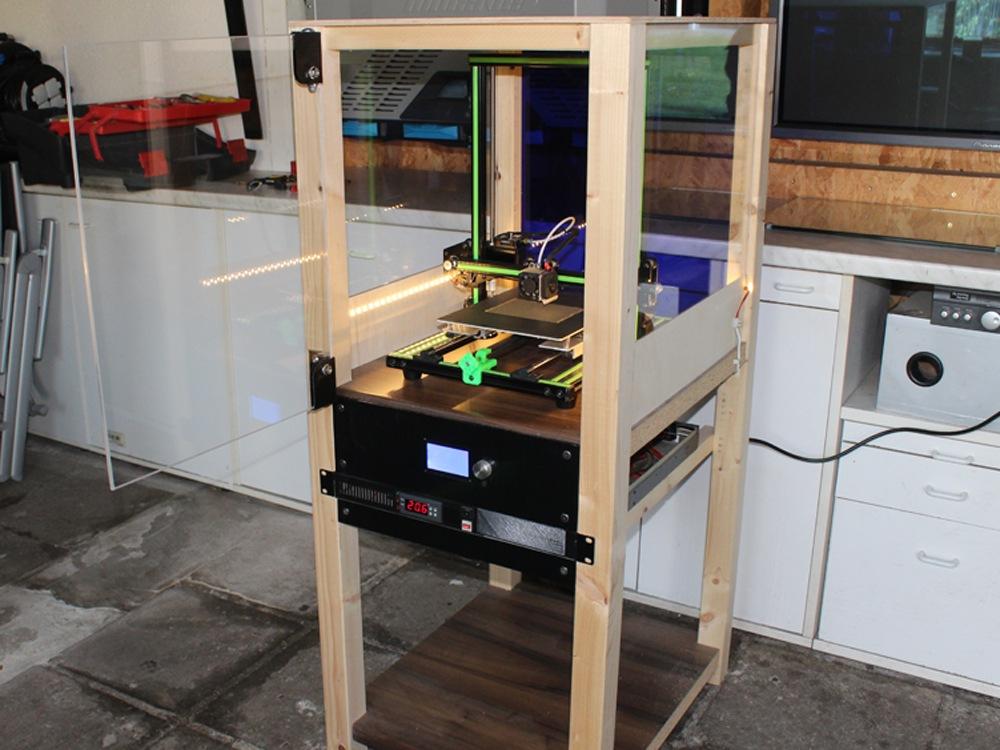 Druckergehäuse bauen