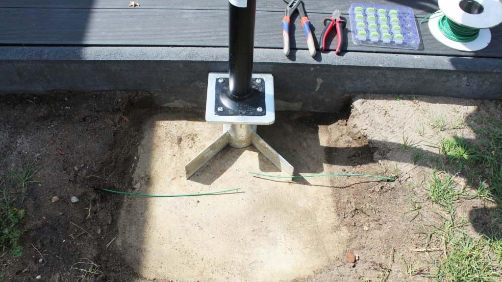 schirmständer betonieren