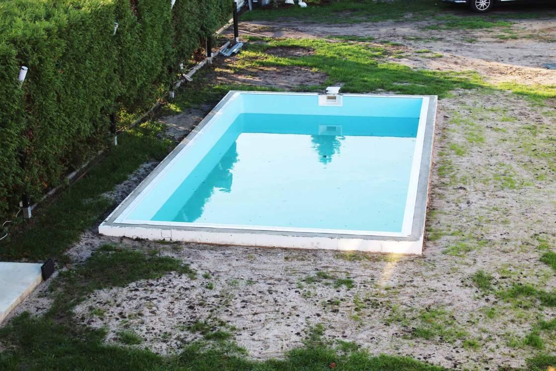 Styropor Pool selber bauen