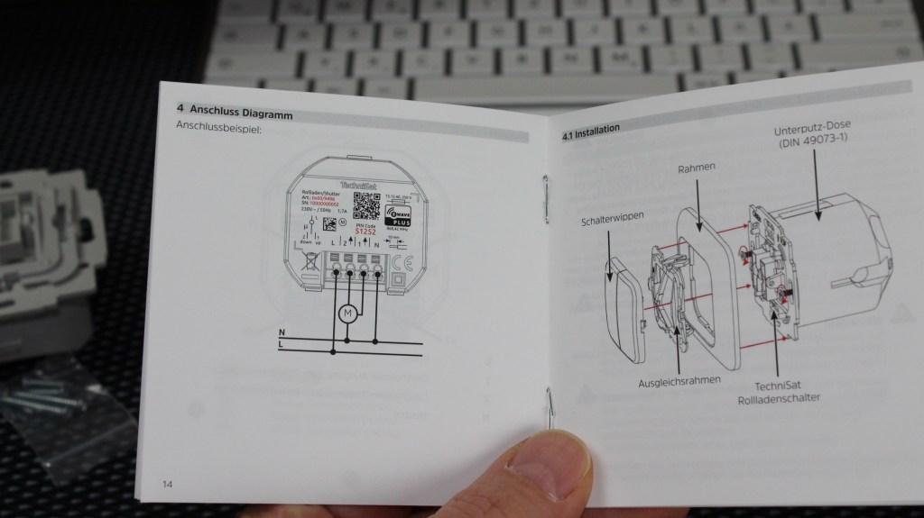 Test Smarthome TechniSat Unterputzeinsatz