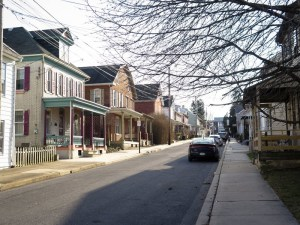 Kutztown, Pa., is a small town that has been hit hard by opioid addiction. Source: Melissa Block/NPR