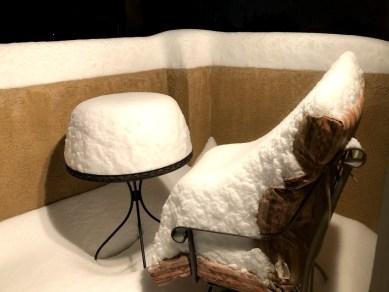 Snowfall in Albuquerque 2020