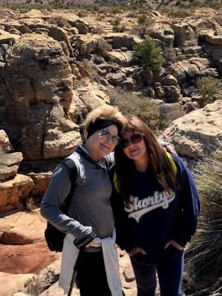 Petrified wood hiking trip