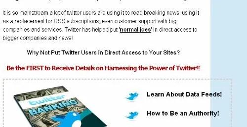 Twitter Banking