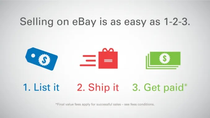 First Sales on eBay for the New Year. Might be Easier than Affiliate Marketing?