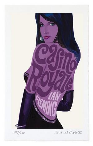 casino royale poster ian fleming