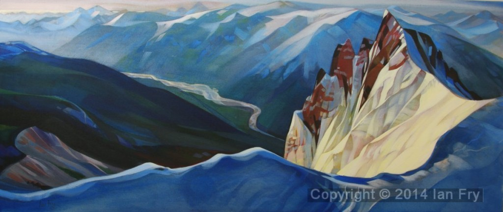 Mt Cayley and the Squamish river . sold