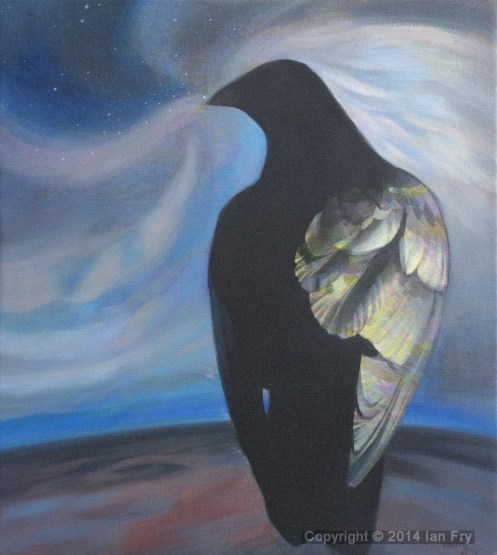 Raven brings the night. Sold
