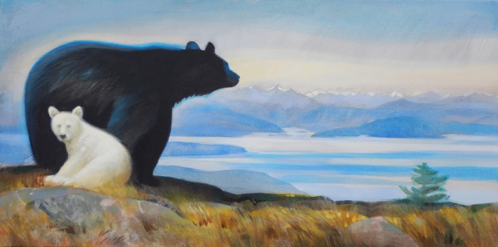 Salish Sea bears.