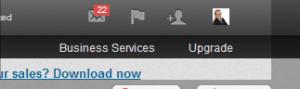LinkedIN Settings 1