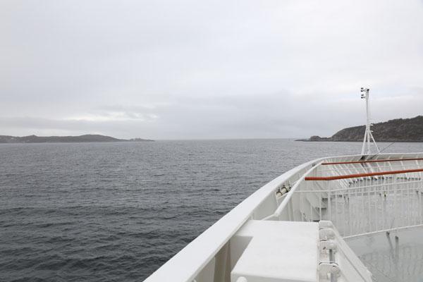 Crossing Hustadvika