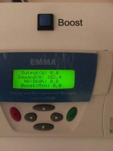 EMMA Unit zerod at 2300